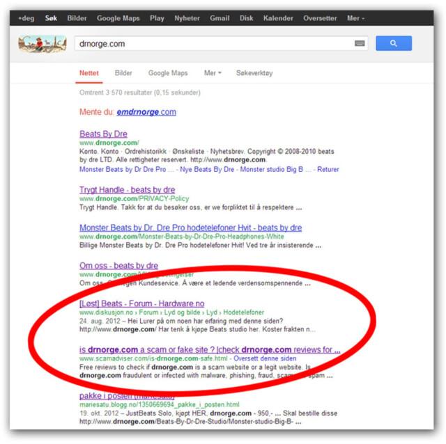 1ef995e07 Svindel: Slik avslører du falske nettbutikker - DinSide