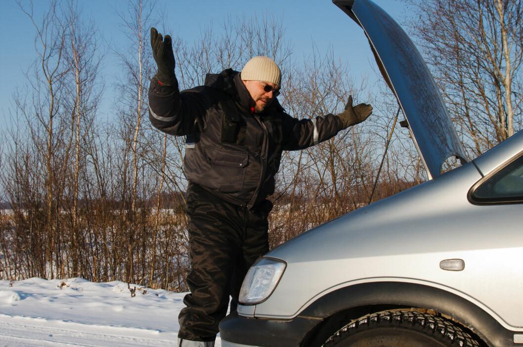 MOTORFEIL er den vanligste årsaken til at vi ringte etter veihjelp i 2012. Foto: Colourbox.com