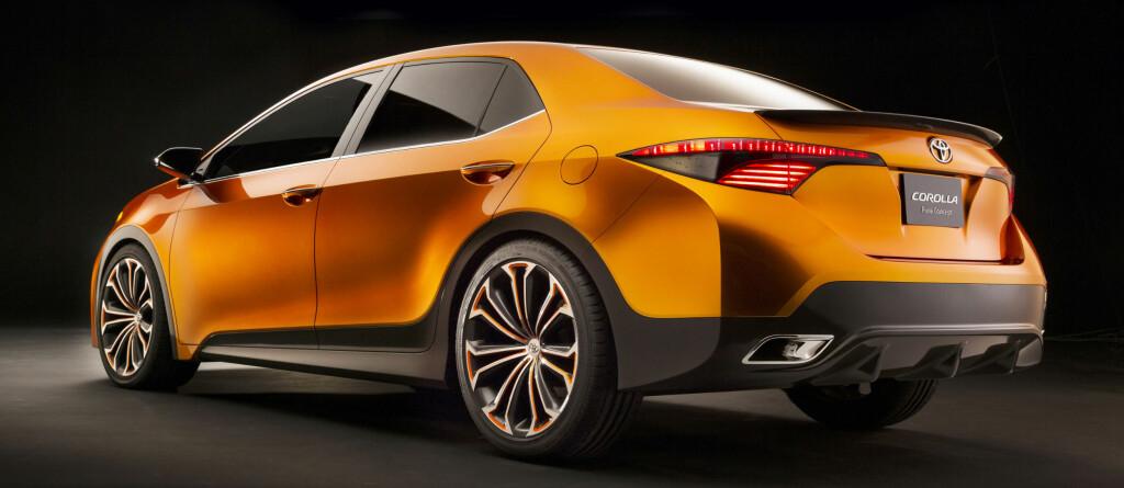 Toyota virker å ha sportsligere tanker for Corolla fremover Foto: Toyota