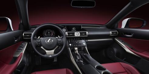 Helt ny Lexus IS