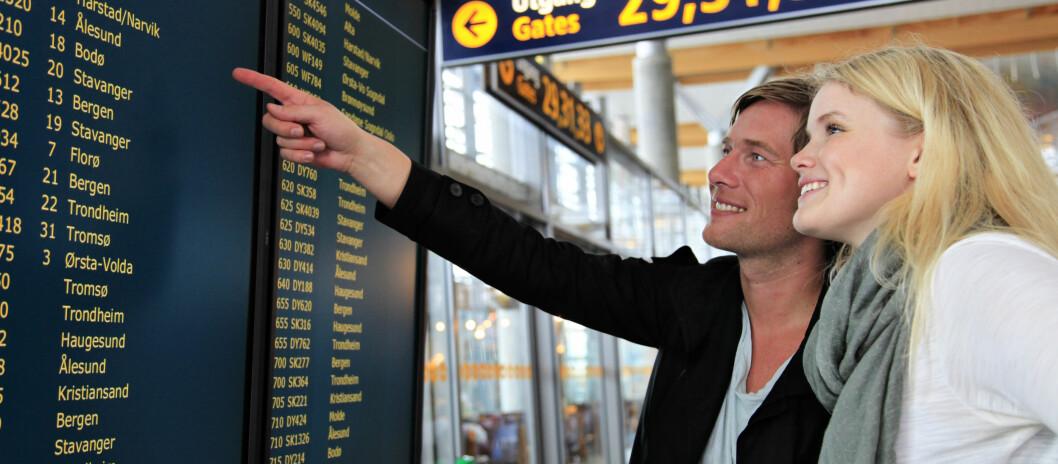 Med årets nye ruter, kan du fly direkte til mer enn 140 utenlandske destinasjoner i 2013.  Foto: Oslo Lufthavn