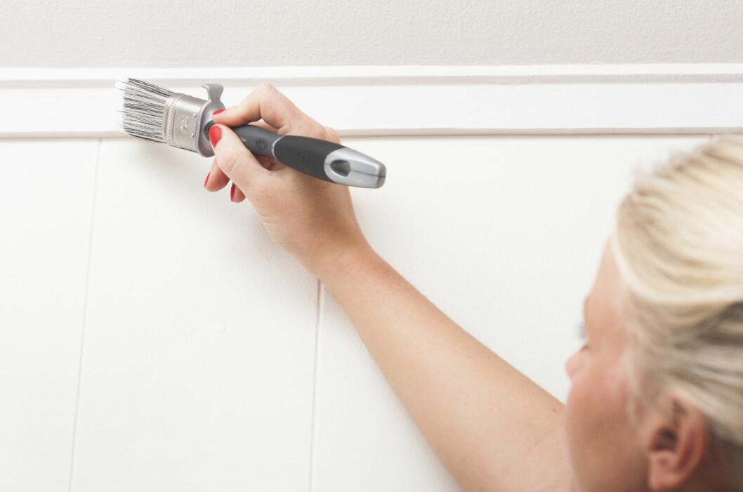 Godt verktøy er halve jobben. Til de aller fleste lister anbefales det å velge en oval eller rundt pensel.  Foto: Jordan/Ifi.no