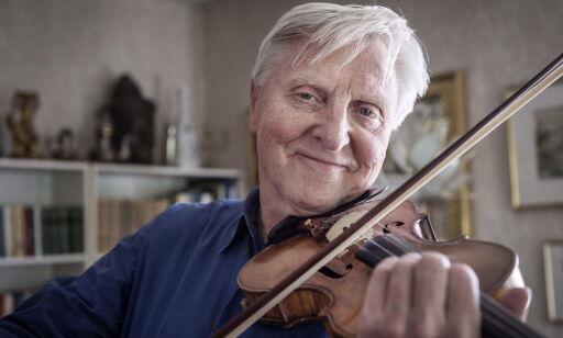 image: Arve Tellefsen fikk årets hederspris - men han hadde dratt hjem
