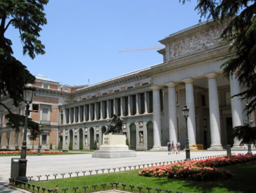 Prado-museet i Madrid er byens mest besøkte attraksjon.  Foto: www.aviewoncities.com