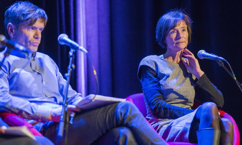 MISTILLIT: Sosiolog Kjetil Rolness og forfatter Hege Storhaug bidrar til å fremme mistillit, skriver Christian Torseth. Foto: Fredrik Varfjell / NTB scanpix