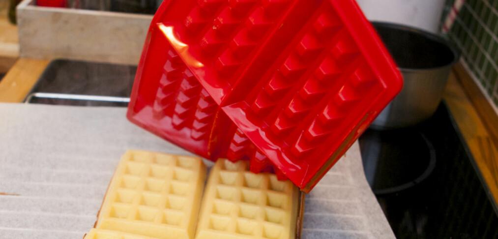 Belgiske vaffelformer i silikon