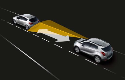 Radarbasert avstandsholder Foto: Opel