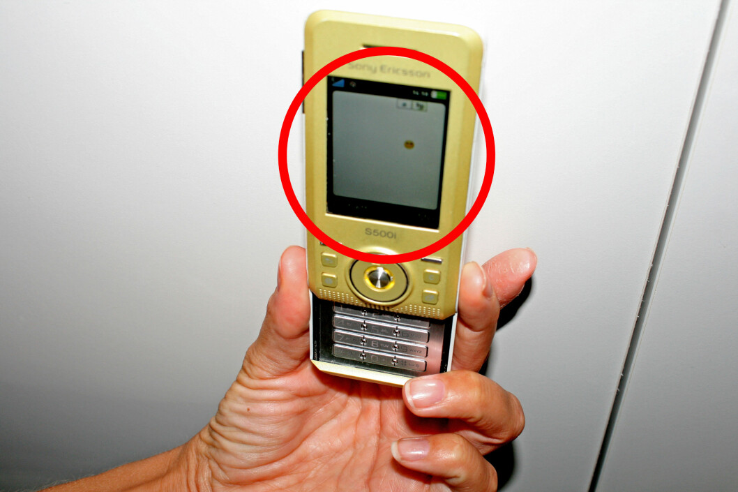 Ingen kunne forutse hvilken rolle SMS-en ville få i måten folk kommuniserer på. Denne mobilen fotograferte vi i 2009, som også var toppåret for antall sendte SMS. Foto: Synne Hellum Marschhäuser