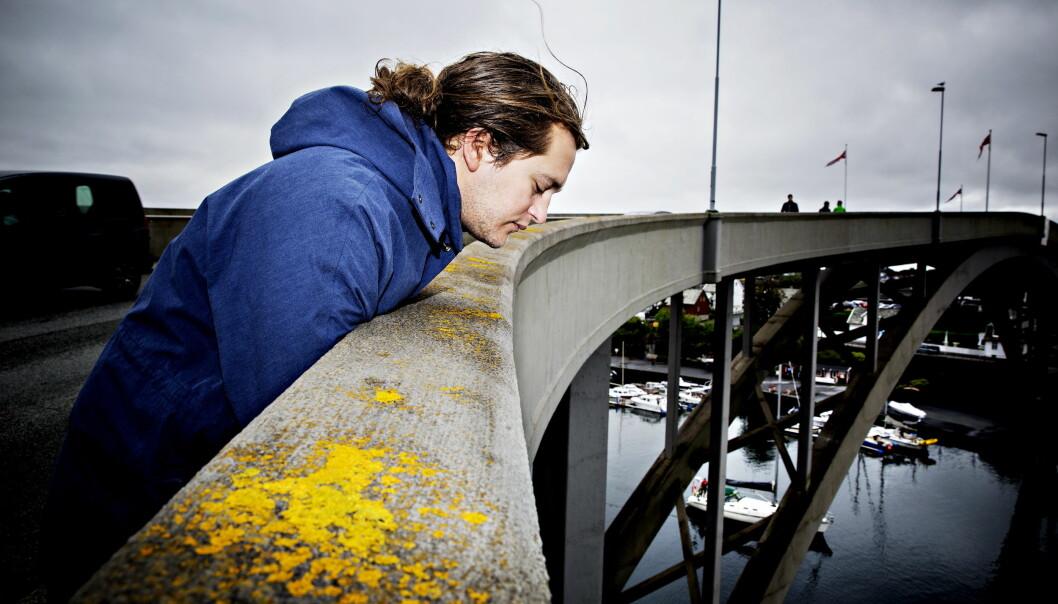 REDD DET MESTE: Benjamin Helstad er redd det meste, og har også høydeskrekk. Foto: Nina Hansen / dagbladet