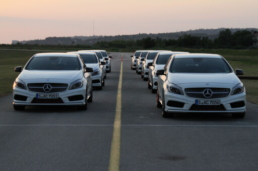 Nye A-Klasse kan også væøre en bil du kan korte ned ventetiden på.
