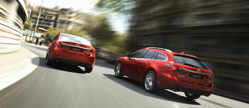 Snart kommer nye Mazda 6 på markedet. Den kan være et godt alternativ for egenimport.  Foto: Mazda