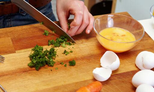 image: Skjærebrettet er kjøkkenets versting