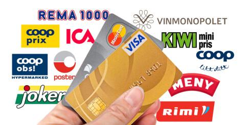 Du kan handle både alkohol og dagligvarer på kreditt