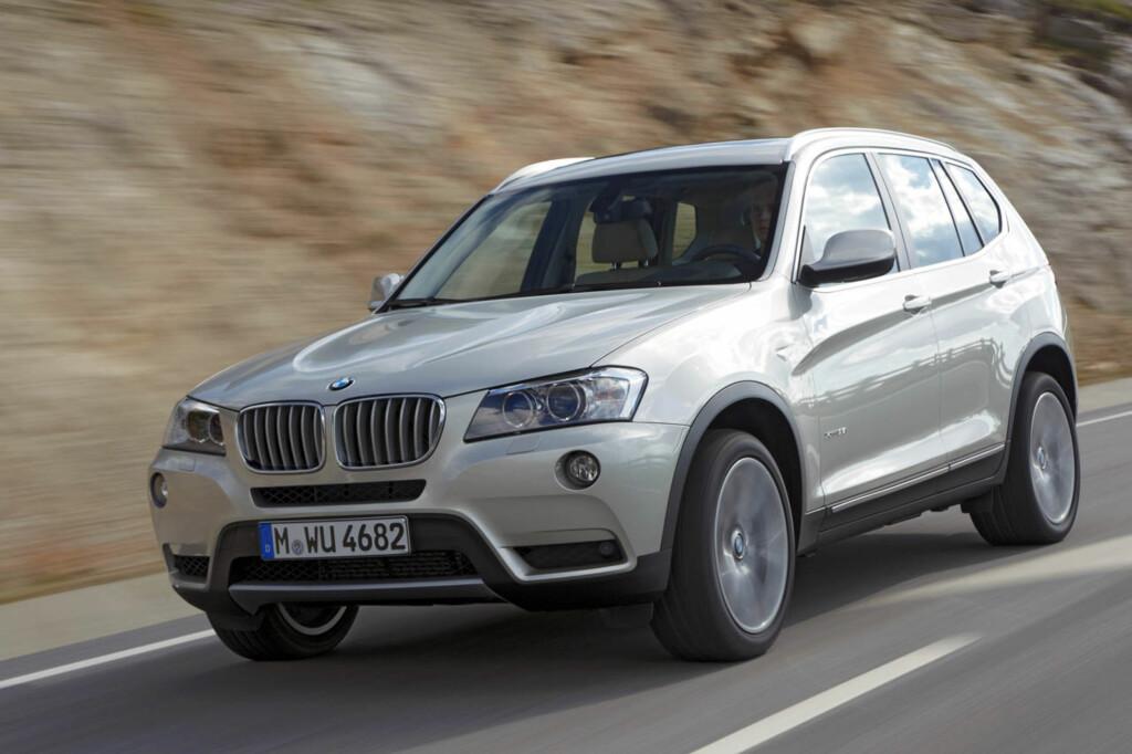 BMW X3 er blant bilene som Autolease Norge tror vil holde seg best i verdi. Foto: eb.andriuolo