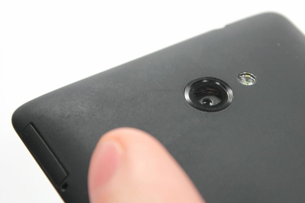 <strong>OVER MIDDELS:</strong> Kameraet til HTC Windows Phone 8X er over gjennomsnittet, men ikke helt i toppsjiktet.  Foto: Ole Petter Baugerød Stokke