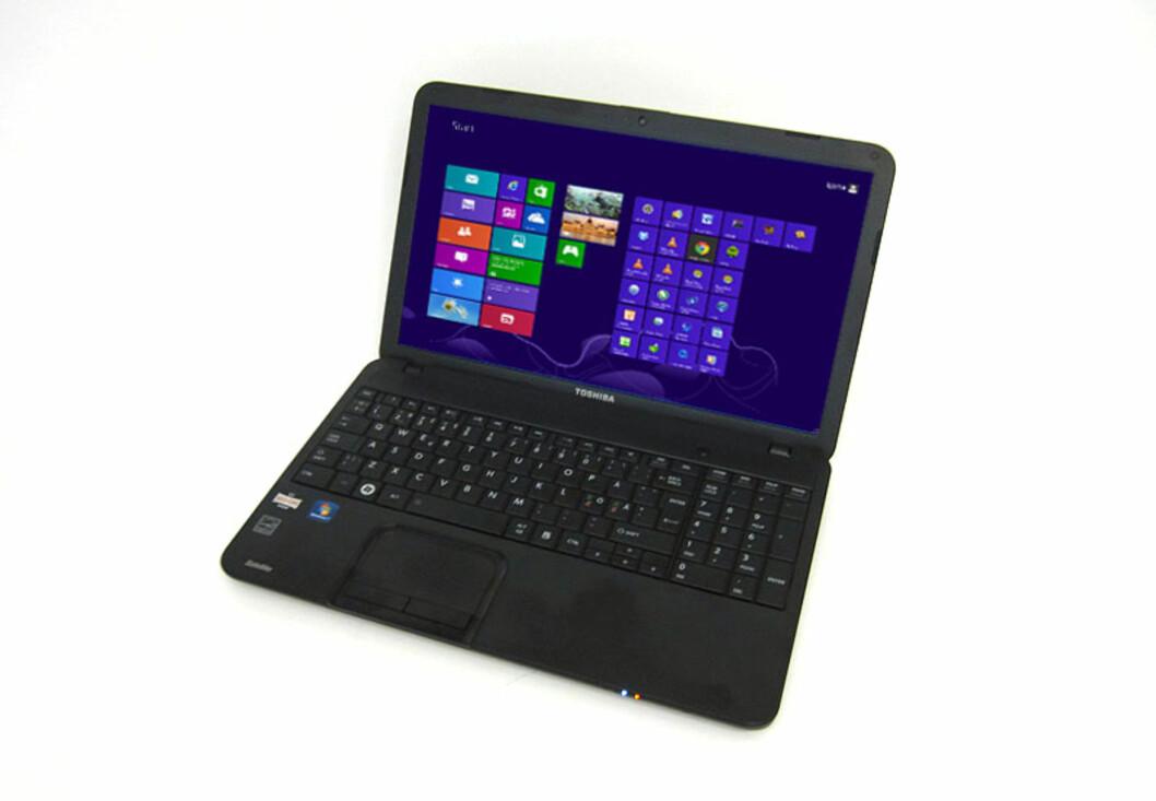 Med Windows 8 innabords og uten alt dilldallet som fulgte med da vi kjøpte PC-en, har vi blant annet halvert oppstartstiden. Foto: Bjørn E Loftås
