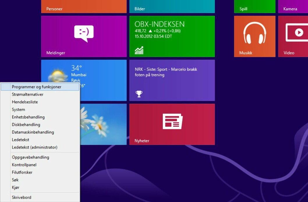 Windows 8-startmenyen har fått en smart kompanjong.