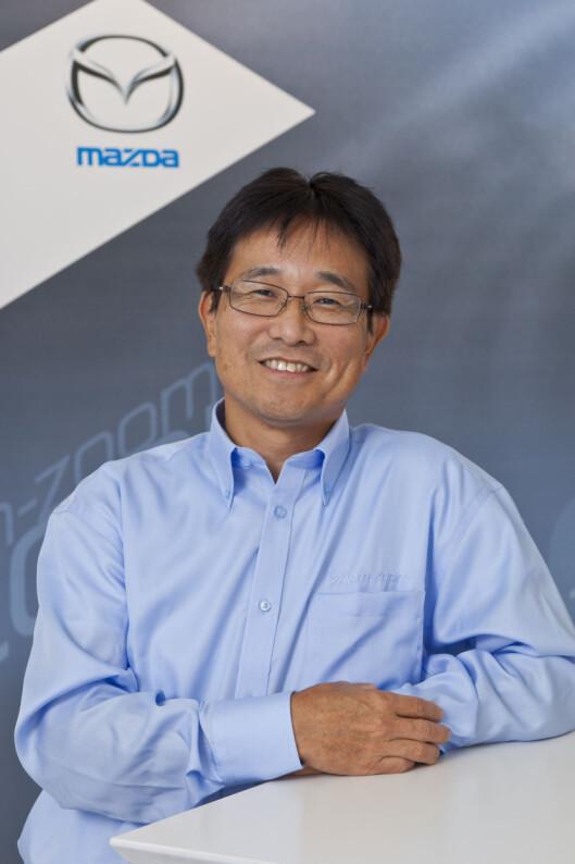 Shin Okamoto har ikk stor tro på nedskalering av motorer så lenge det inkluderer turbo-ladere.