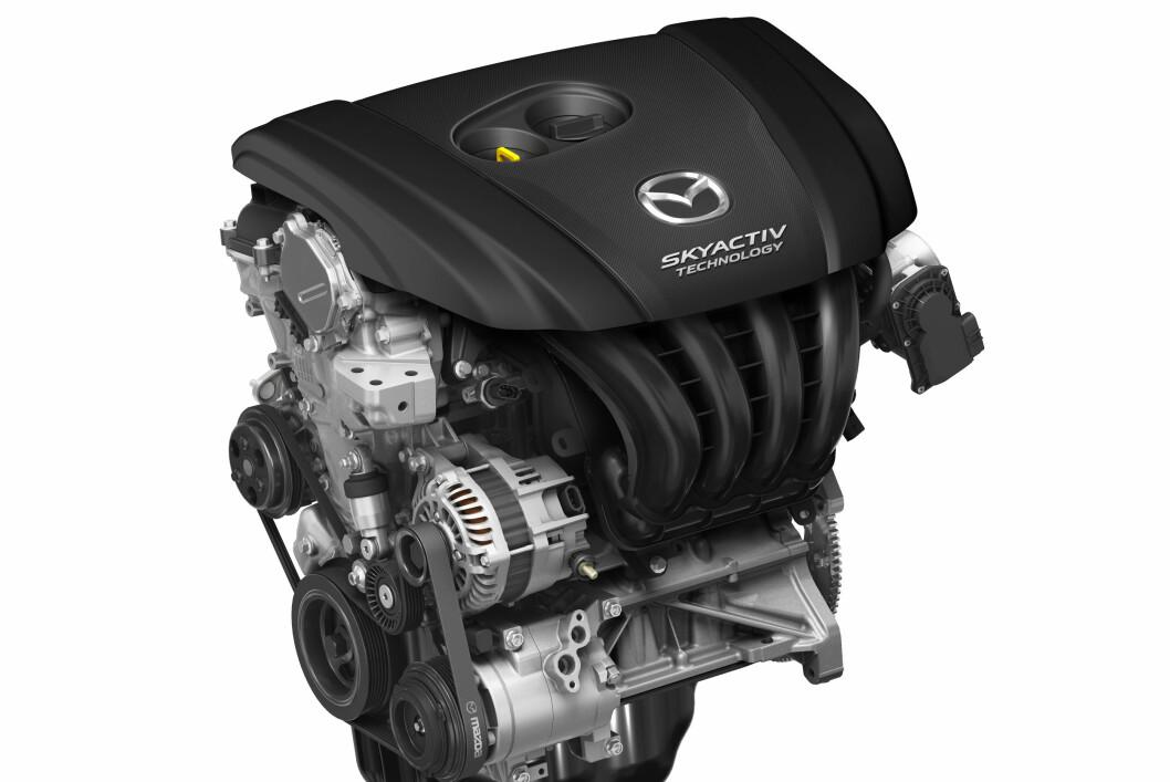 De nye motorene fra Mazda er et resultat av deres Skyactive-program.