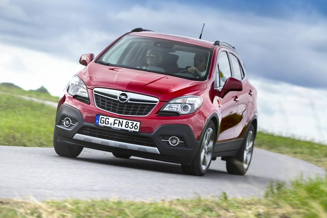Mokka er en svært viktig bil for Opel i Norge