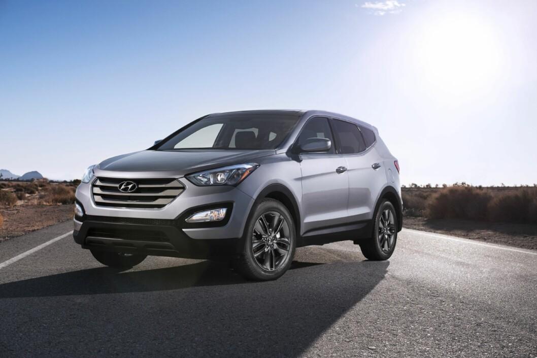 FEM STJERNER: Hyundai Santa Fe