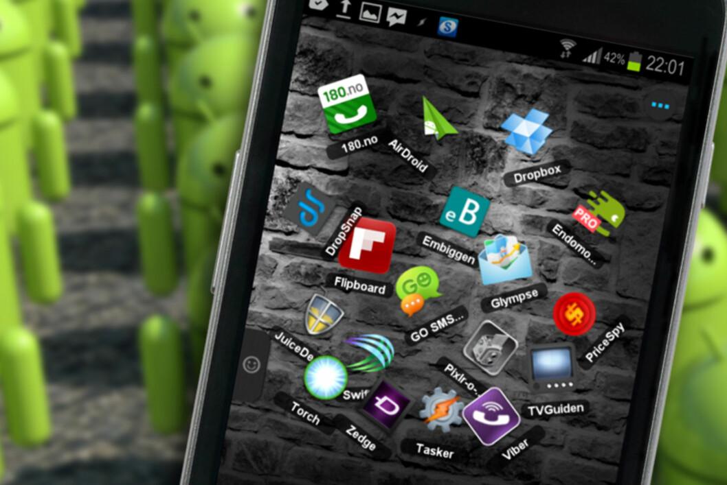 Det finnes mange godbiter når det gjelder apper for Android. Her er noen av våre favoritter.