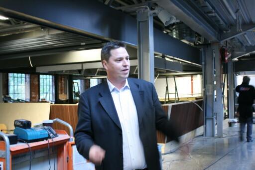 Frode Rønne Malmo, markedssjef ved Vulkan. Foto: Kristin Sørdal