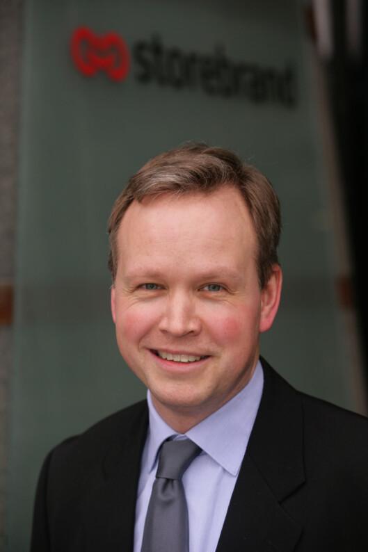 Harald Lindeman. Foto: Storebrand