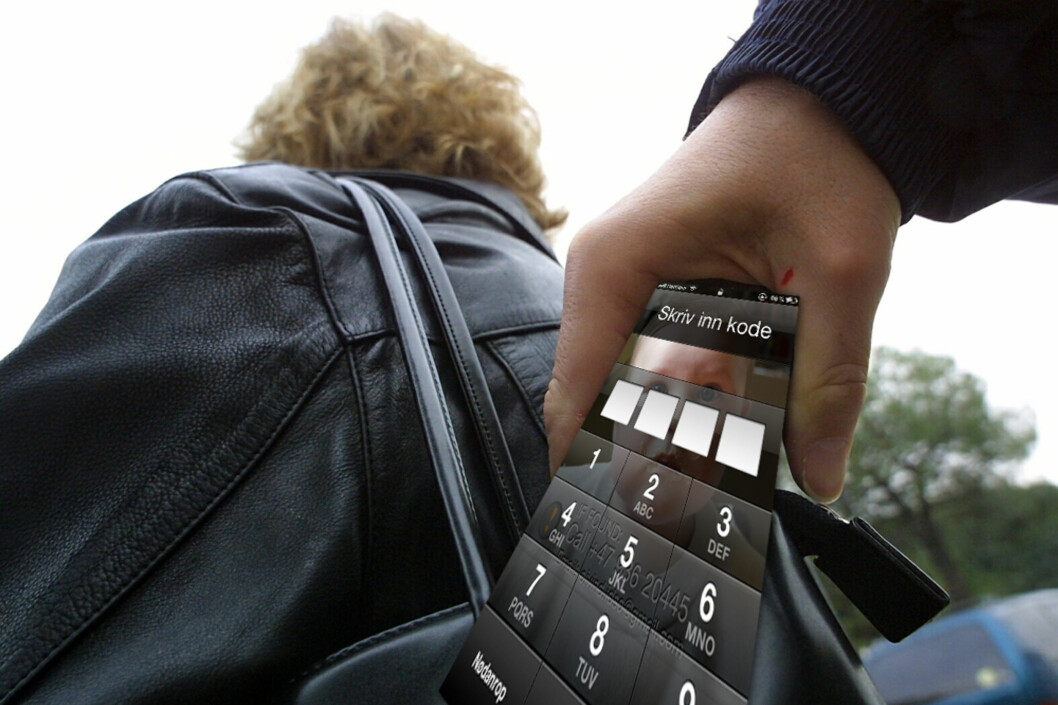 Har du en iPhone 4, og har lyst på den nyeste versjonen som lanseres i morgen? Forsikringssvindel er ikke veien å gå for å sikre seg ny telefon. Foto: Ill./Colourbox