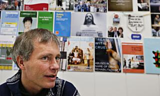 POSITIV: Nyvalgt styreleder for Foreningen for human narkotikapolitikk, Arild Knutsen. Foto: NTB Scanpix