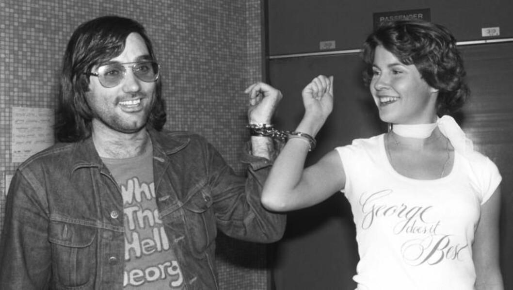 <strong>LEGENDE:</strong>  George Best var en fotballspiller og skjørtejeger av rang. Her fra Los Angeles i 1978. FOTO: NTB SCANPIX