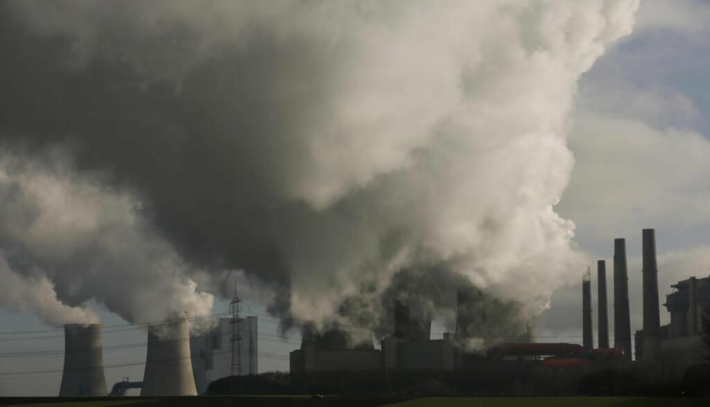 IKKE RUSSLAND: Kullkraft er et billig og lett tilgjengelig alternativ til russisk gass. Men det er også ekstremt forurensende. Foto: NTB Scanpix
