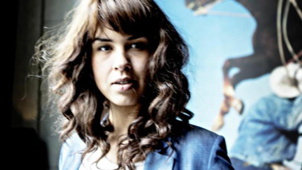 SNEK SEG INN: Maria Mena kom seg inn på en 84. plass med låta «You're The Only One».  Foto: Lars Eivind Bones
