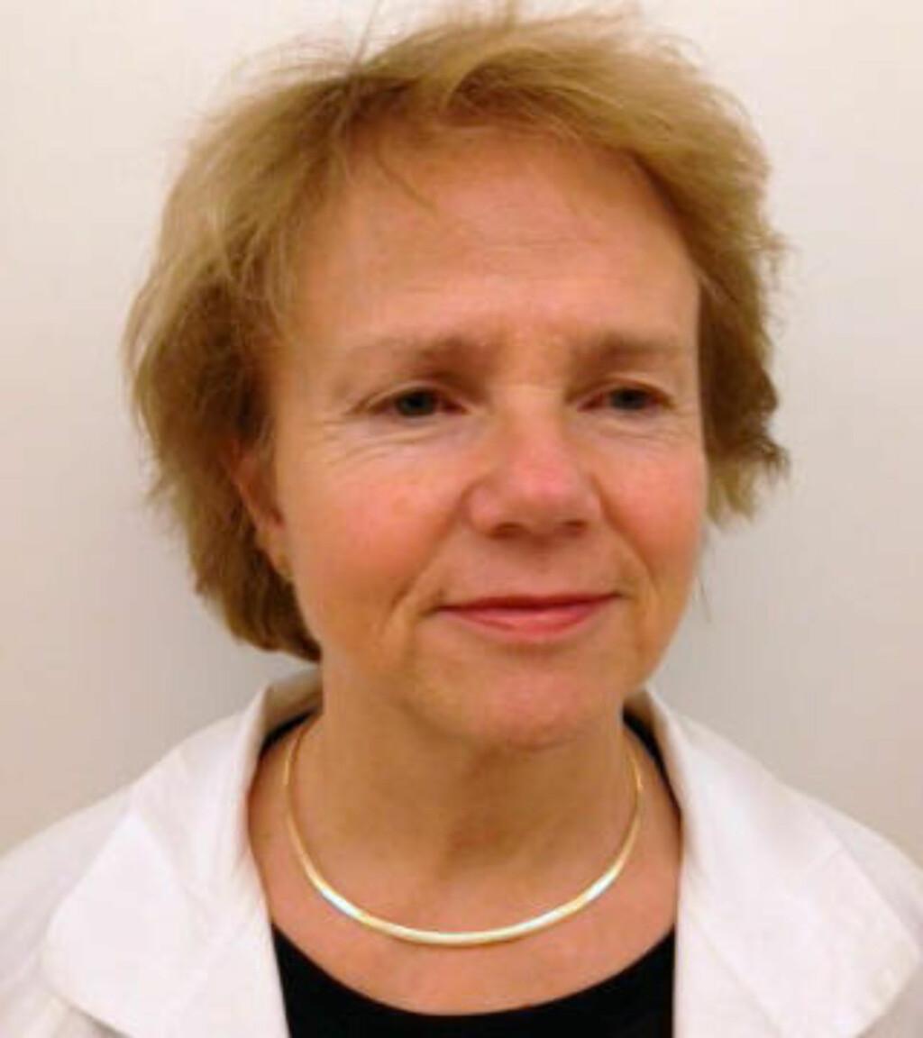 FORSKER PÅ MØDREDØDELIGHET:  Siri Vangen, leder for Nasjonal kompetansetjeneste for kvinnehelse, Oslo universitetssykehus.
