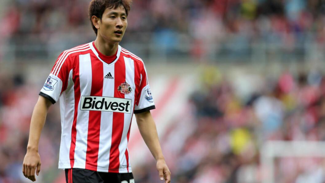 <strong>SKAPER PROBLEMER:</strong> Sunderlands Ji Dong-won ble brukt uten at han var spillerberettiget. Det får Cardiff, Fulham og Norwich til å klage til Premier League. Foto: AP Photo/Scott Heppell/NTB Scanpix