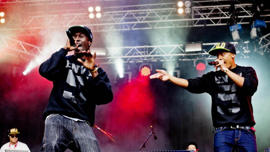 <strong>VELDIG MORO:</strong>  Nico &amp; Vinz, tidligere kalt Envy, dro til USA for å bli hørt og spilt, og det har de jammen klart. Her fra Øyafestivalen i Oslo. Foto: Sveinung U. Ystad, Dagbladet