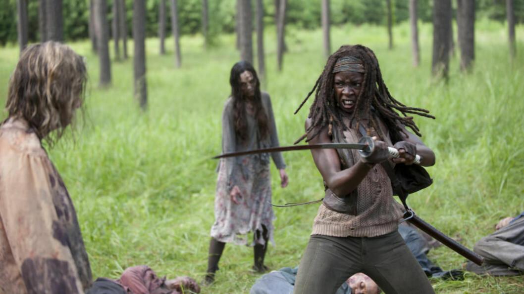 <strong>ZOMBIELØS?:</strong> «The Walking Dead» ville muligens ikke vært helt det samme uten zombier. FOTO: FOX