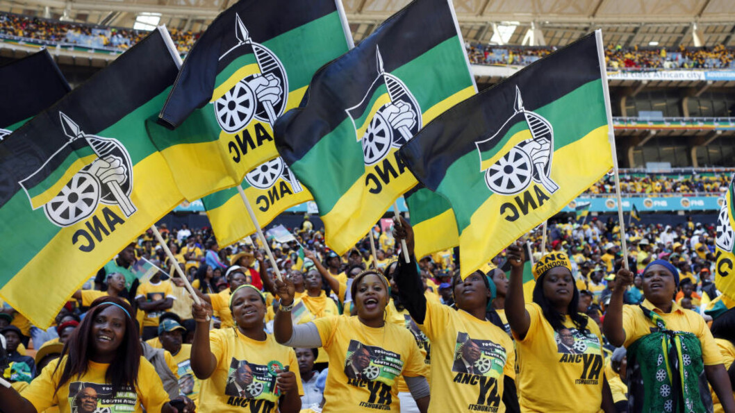 <strong>GÅR MOT SEIER:</strong> Til tross for at oppslutningen om ANC synker, kommer partiet til å vinne valget i Sør-Afrika med god margin. Foto: Reuters / NTB scanpix