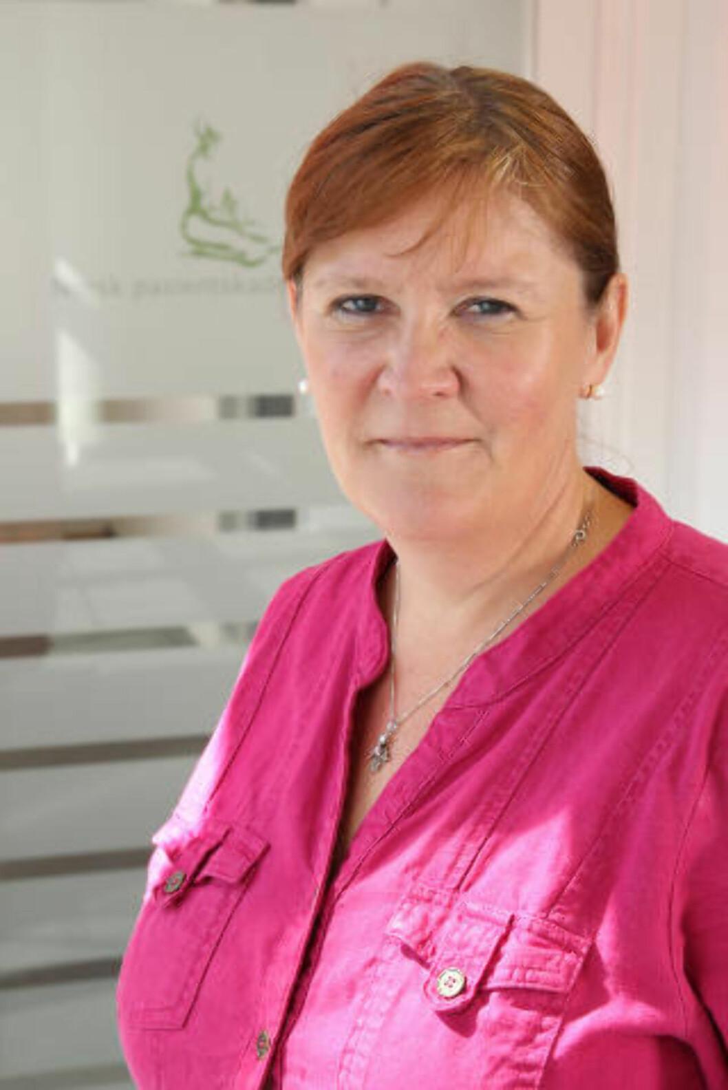 SVARER PÅ KRITIKK: Avdelingsdirektør Anne-Mette Gulaker i NPE. Foto: NPE