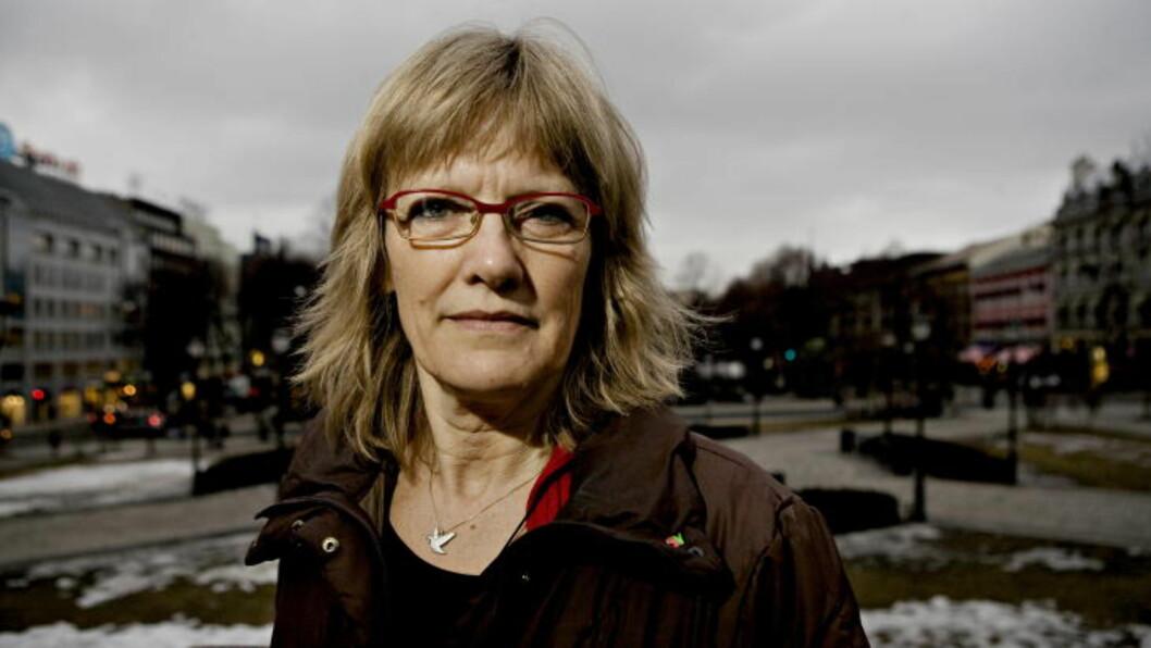 <strong>- SÅRBARE:</strong> - Utenlandske kvinner er særlig sårbare når mannen er norsk. Han er porten inn i samfunnet. Saken om drapet på Anna Medvededa viser dette, sier Karin Andersen fra SV. Foto: NINA HANSEN