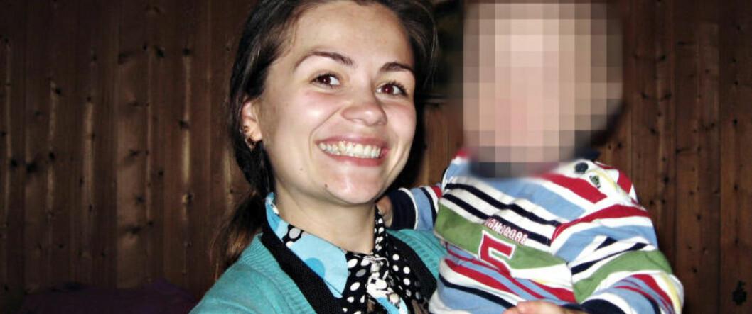 <strong>BLE DREPT:</strong> Anna Medvedeva (26) ble drept av ekssamboeren 14. oktober 2012, da hun møtte ekssamboeren for at han skulle ha samvær med deres felles barn. Foto: PRIVAT