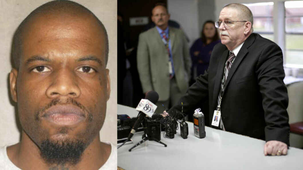 <strong>DØDE AV HJERTEINFARKT:</strong>  Bruk av en ny type giftblanding førte til at Clayton Lockett (t.v) fikk en svært smertefull død. Foto: Ap Photo/Tulsa World/Oklahoma Department of Corrections