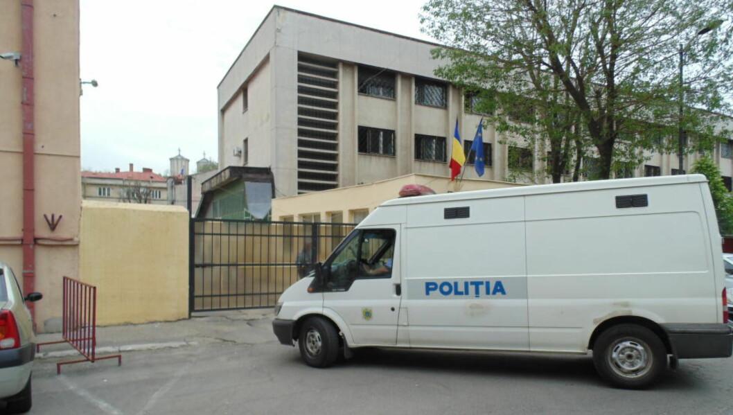 <strong>VARETEKTSFENGSLET:</strong> Den norske 58-åringen sitter her, i fengselet for varetektsfanger i Bucuresti. Nordmannen ble i går varetektsfengslet for 30 dager, sitet for seksuelt misbruk av barn og for barnepornografi.