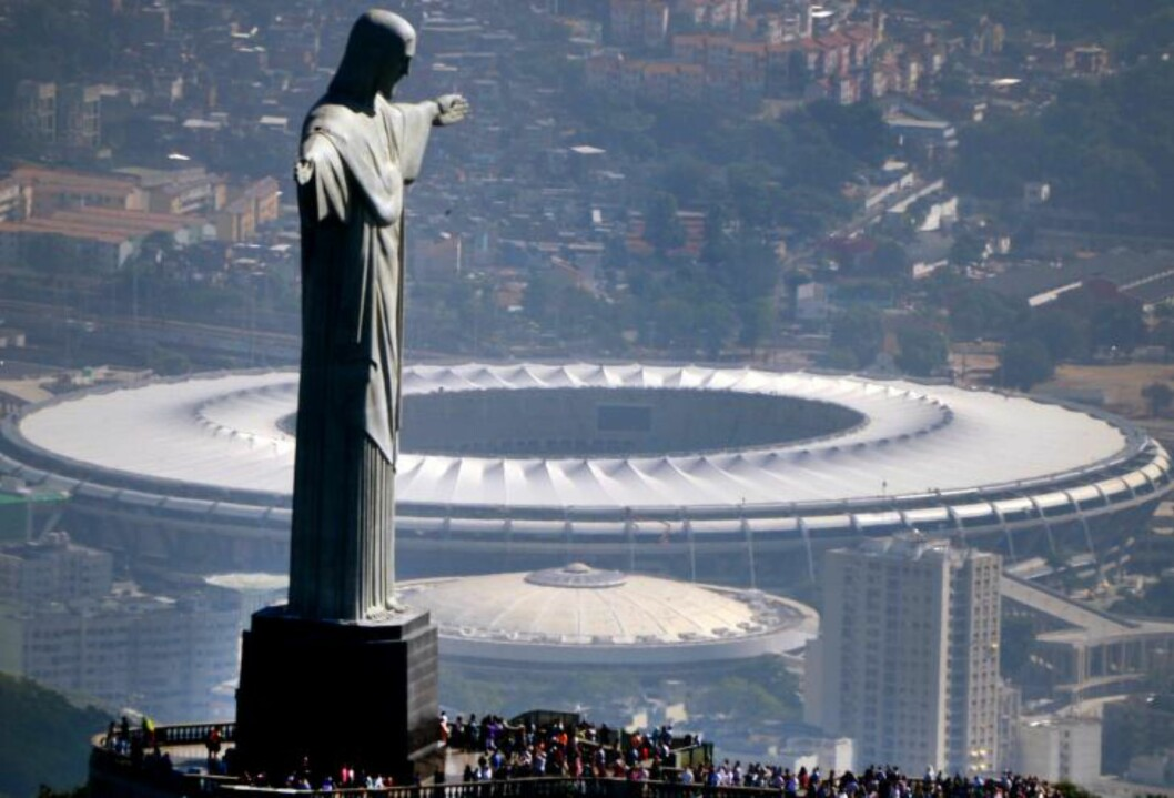 <strong>BRASIL:</strong> Verdens øyne er rettet mot Brasil når VM i fotball sparkes i gang 12. juni. Hele tolv byer vil være vertskap for kampene under mesterskapet, og finalen går av stabelen i Rio de Janeiro 13. juli. Foto: VANDERLEI ALMEIDA / AFP PHOTO / NTB SCANPIX