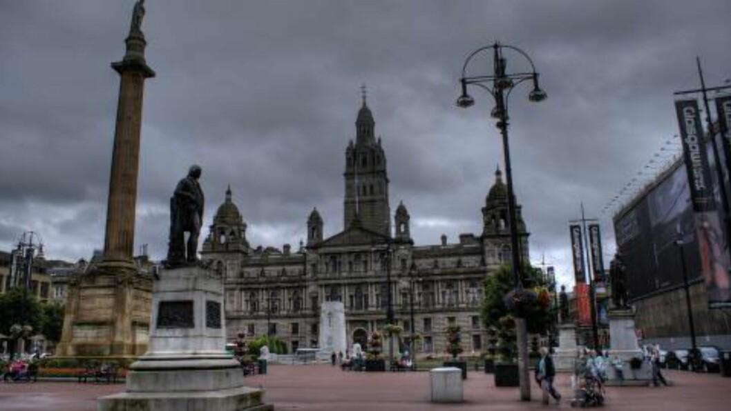 <strong>GLASGOW:</strong> Fra 23. juli til 3. august er Glasgow vertskap for Samveldelekene, som er det tredje største multisportsarrangementet i verden. Foto: COLOURBOX