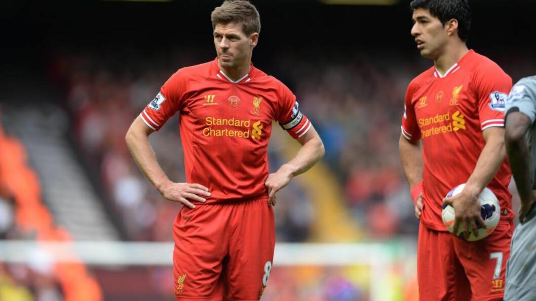 <strong>TØFF TREKNING:</strong> Liverpool er endelig tilbake i det gode selskap, men det kan være over allerede etter gruppespillet. Foto:   EPA/PETER POWELL/NTB Scanpix