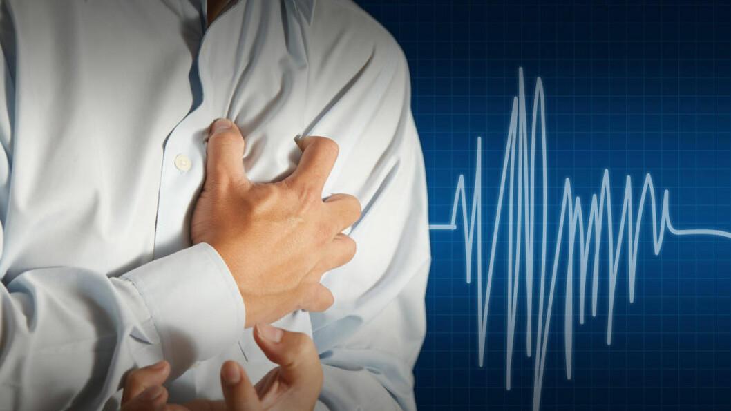 <strong>FLERE ÅRSAKER:</strong> Depresjon og livsstil kan påvirke risikoen for hjertesvikt viser ny forskning. Foto: COLOURBOX