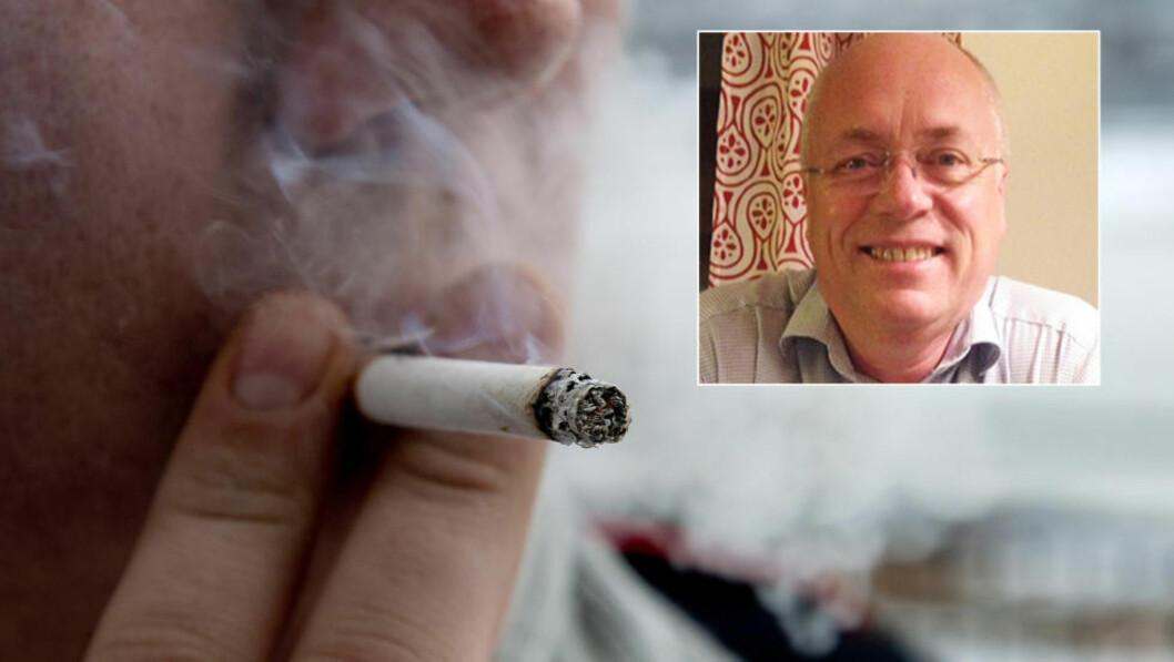 <strong>- STJAL TID:</strong> Derfor innførte daglig leder Morten Eide en ekstra ferieuke til heldige ikke-røykere. Foto: Øistein Norum Monsen / Dagbladet / Privat
