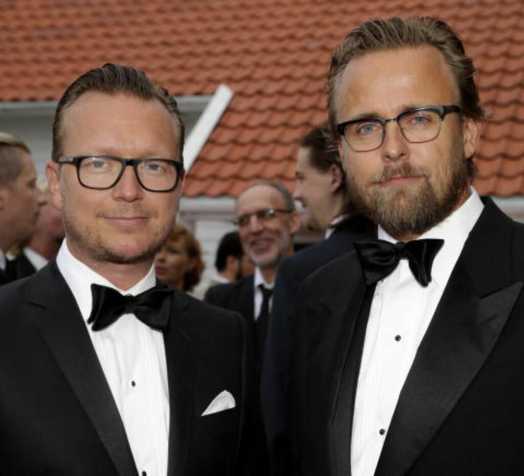 GA FRA SEG REGIEN, BLE PRODUSENTER: Men nå mener filmskaperne Joachim Ronning (t.h.) og Espen Sandberg at de ikke har fått komme med innspill til forbedring av filmen. Foto: Håkon Mosvold Larsen / NTB scanpix