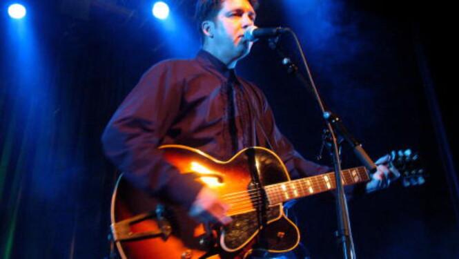 <strong>TIL BERGEN:</strong> Joe Henry i Logen under Ole Blues i 2004. 12. juni er han tilbake - under festivalen som nå heter Bergenfest. Foto: Øyvind Rønning / Dagbladet